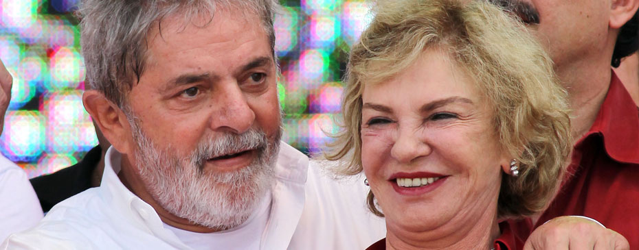 Luiz Inácio Lula da Silva e Marisa Leticia
