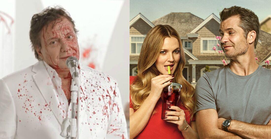 Fábio Jr. promove a nova série original da Netflix em vídeo cheio de sangue