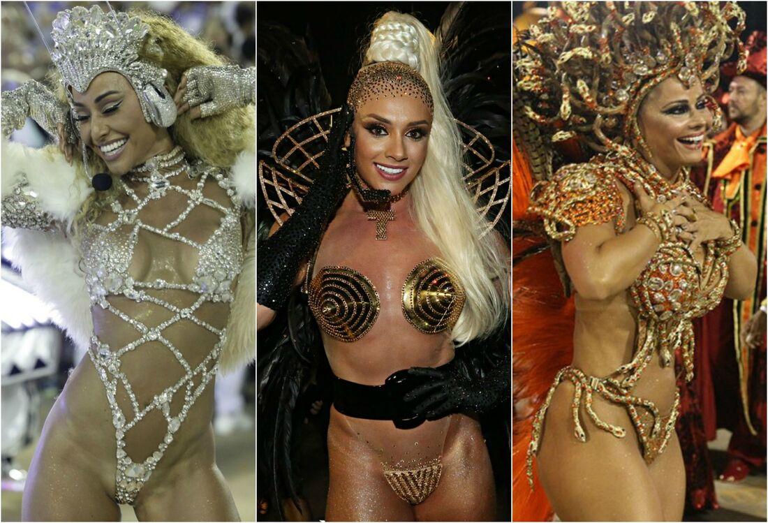 Sabrina Sato, Juju Salimeni e Vivi Araújo entre as famosas que mais chamaram a atenção no Carnaval 2017