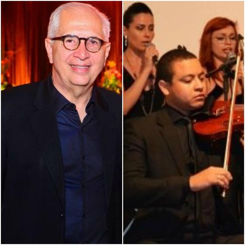 Alexandre Bravo comemora os 25 anos da sua Orquestra Bravo e reúne muitos nomes da sociedade no Teatro de Santa Isabel