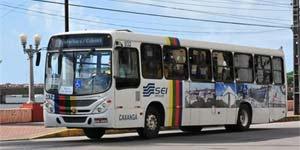 Ônibus no Centro do Recife