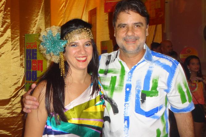 O vice-governador e secretário de Desenvolvimento Econômico do Estado curte todos os agitos ao lado da mulher, Luiza Nogueira