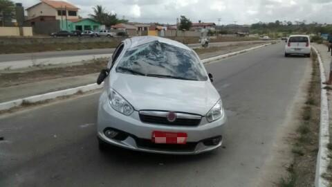 Táxi foi recuperado pela PRF