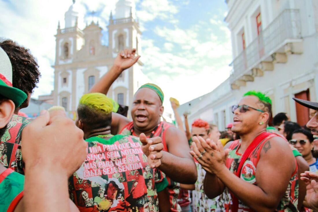 Maracatu Porto Rico comemora título