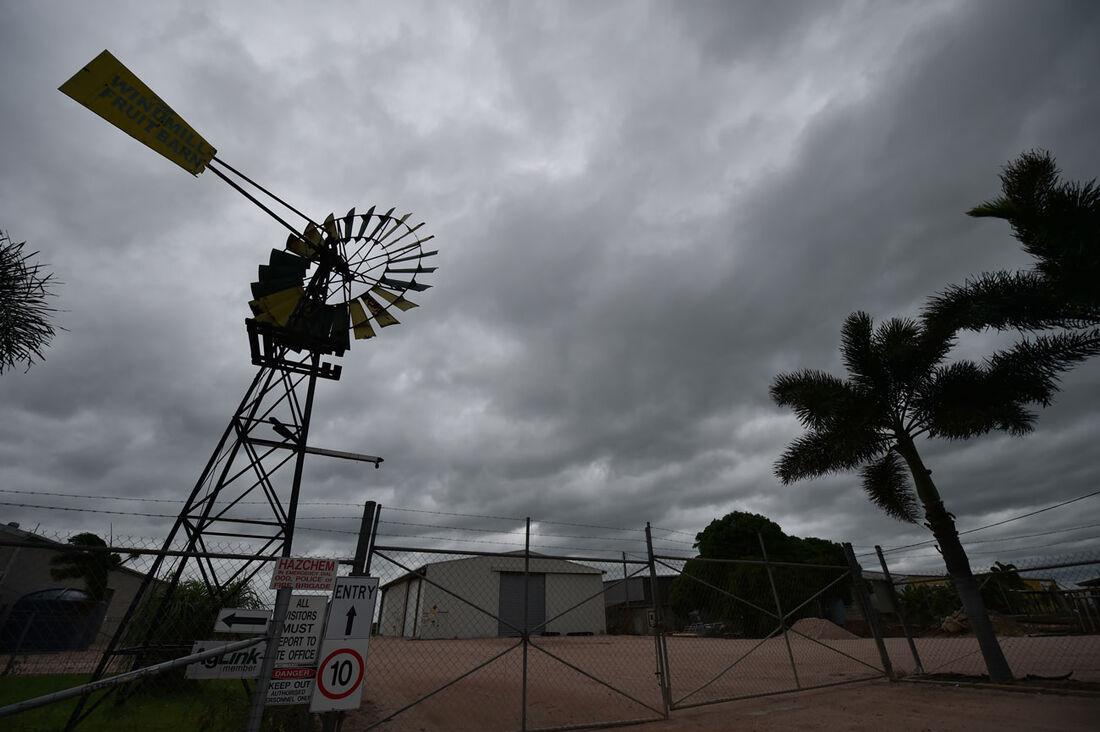 Ciclone Debbie em Queensland, na Austrália