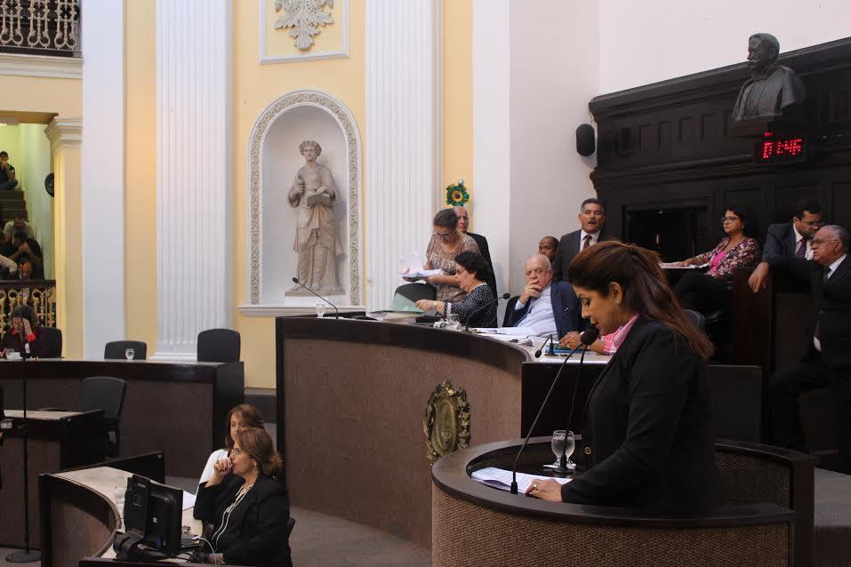 Socorro Pimentel (PSL) é deputada estadual