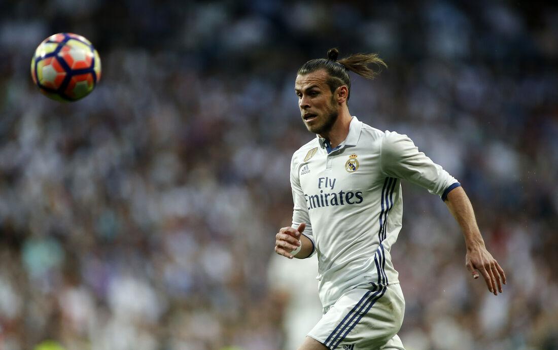 Atacante do Real Madrid, Gareth Bale