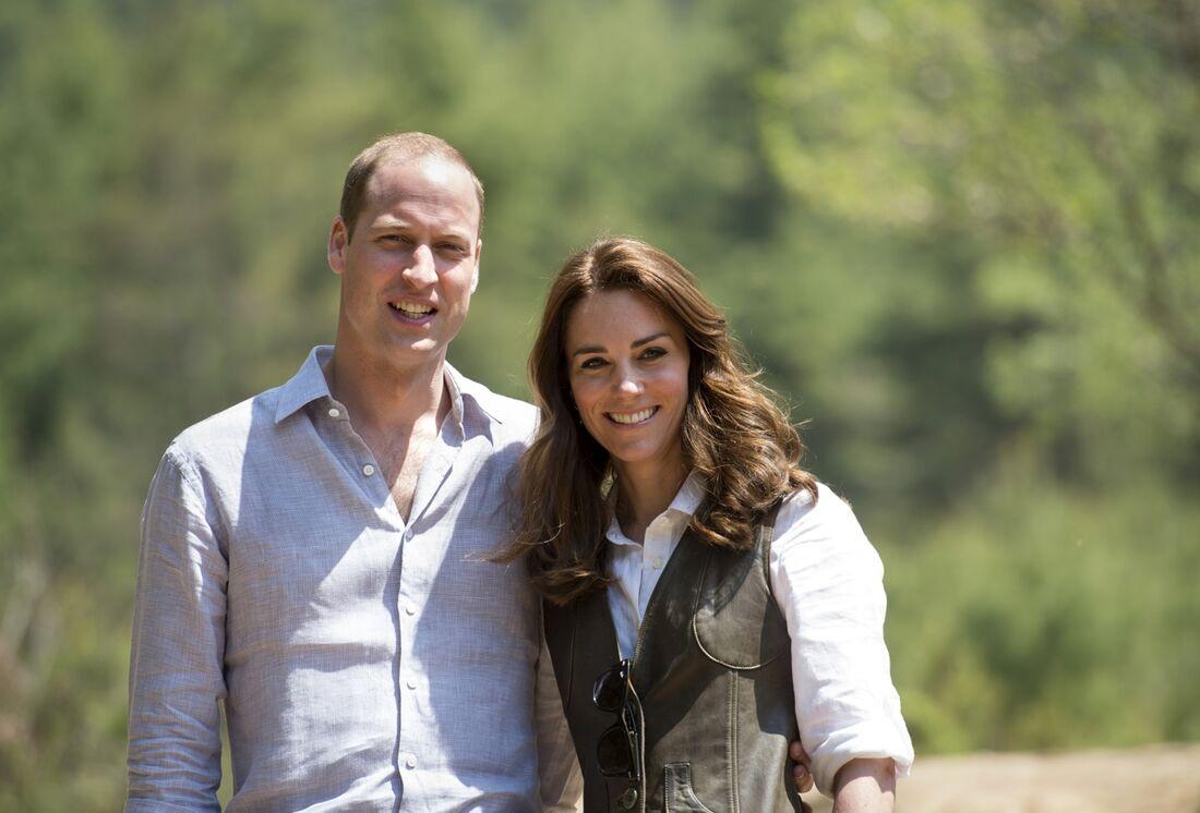 Kate e William contaram o que costumam fazer no tempo livre