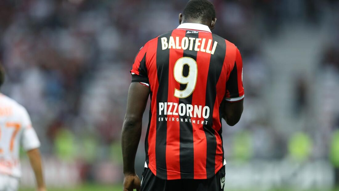 Balotelli, atacante italiano do Nice