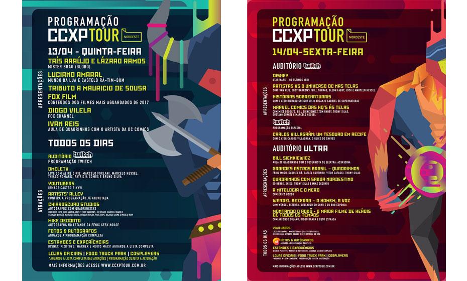 CCXP 5ª e 6ª