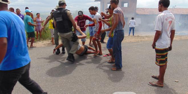 Edvaldo da Silva Alves recebeu tiro à queima roupa durante protesto