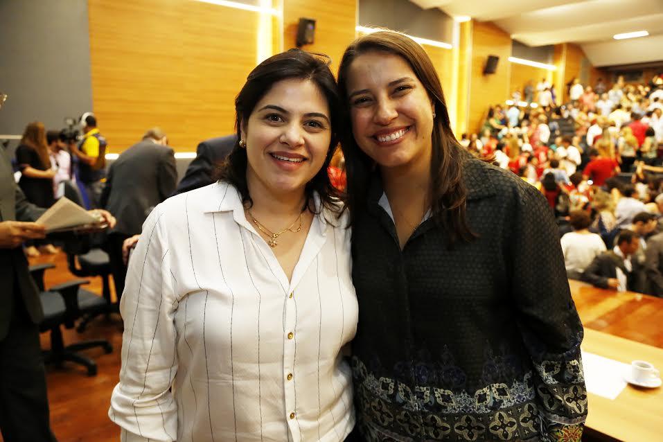 Priscila Krause e Raquel Lyra
