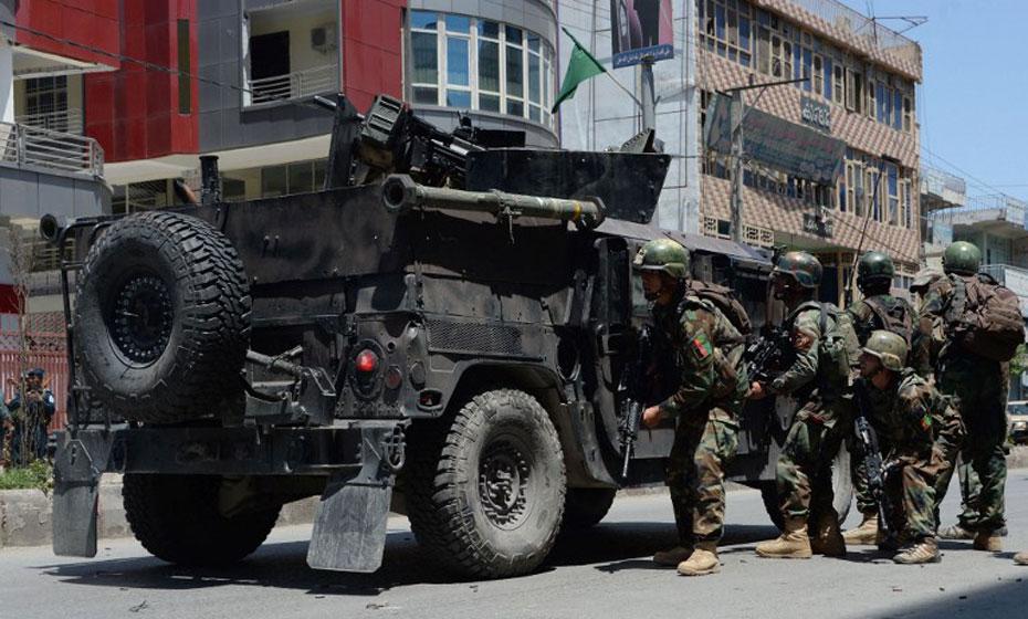 Ataque a televisão no Afeganistão