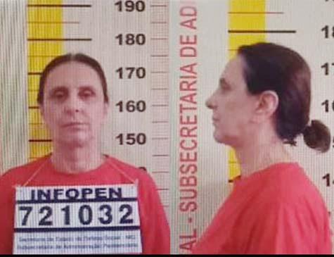 Irmã do senador suspenso Aécio Neves (PSDB-MG), Andrea Neves