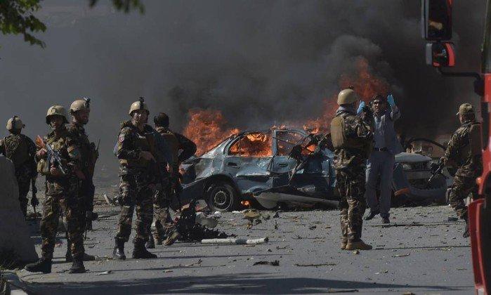 Forças armadas em Cabul