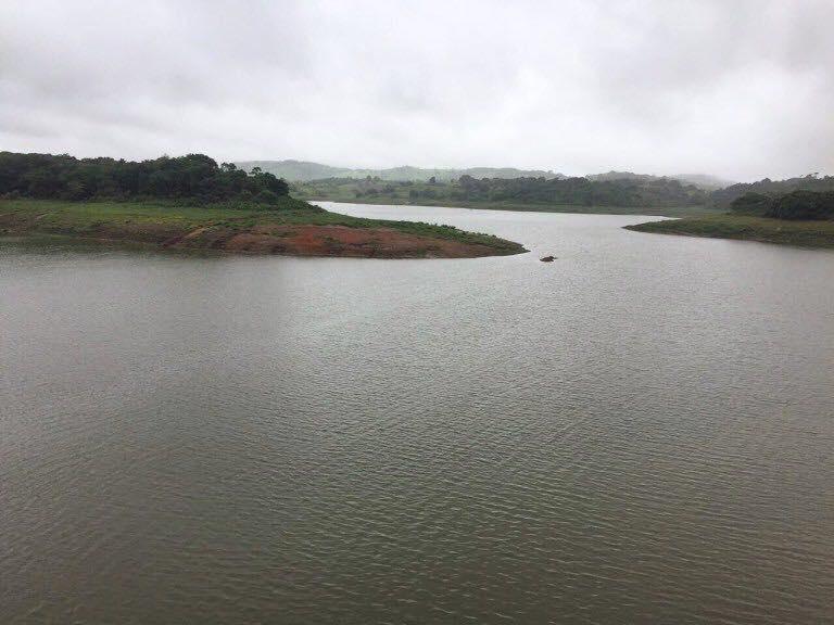 Chuvas provocaram o aumento no acúmulo de água na Barragem do Prata