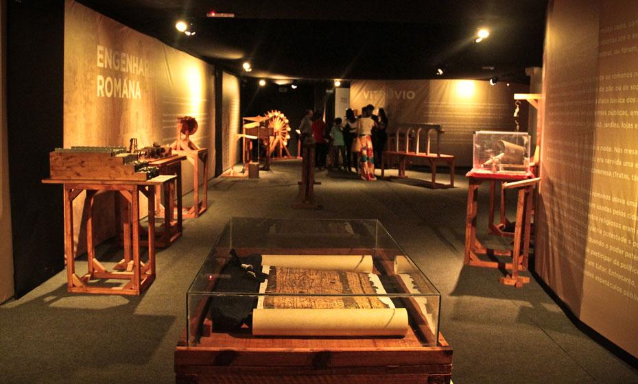 """Exposição """"Império Romano - A exibição"""" no shopping RioMar"""