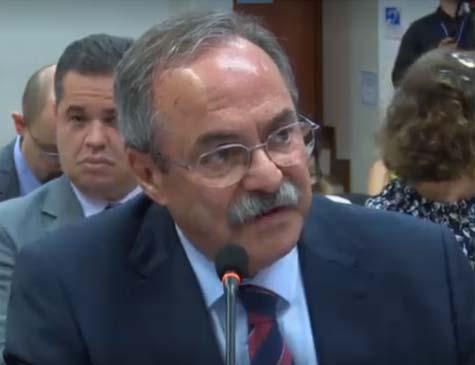 Secretário de Justiça e Direitos Humanos de Pernambuco, Pedro Eurico, em audiência da OEA