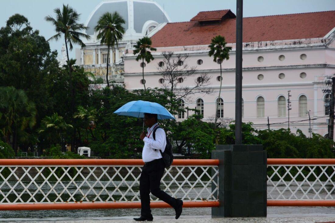 Chuva no Recife
