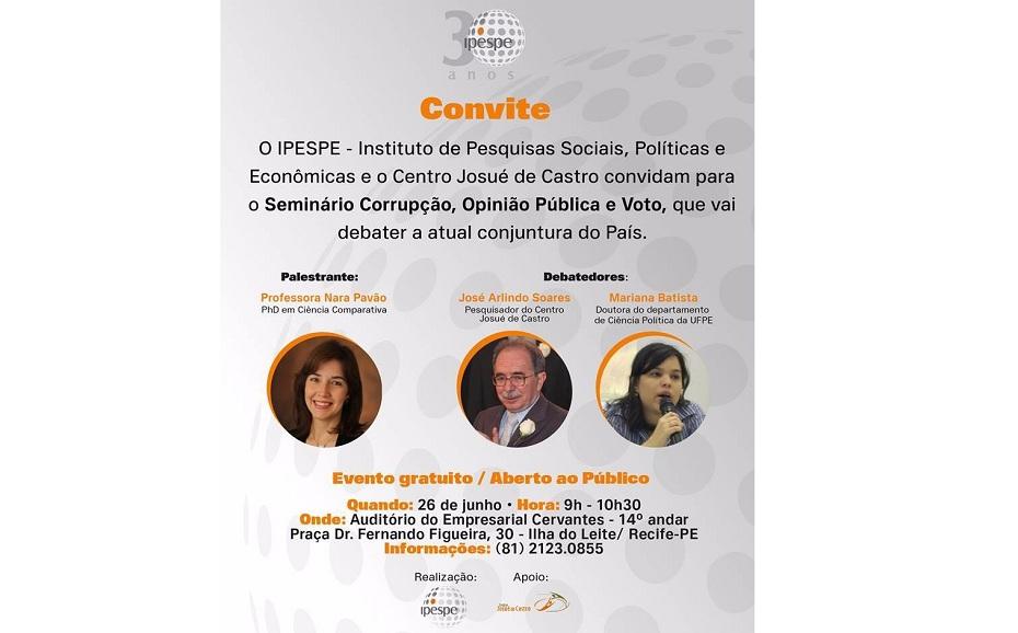 Convite do seminário