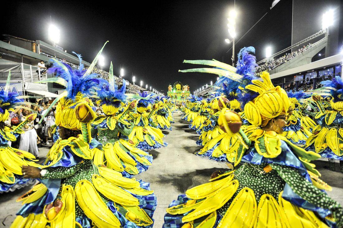 Desfile das Escolas de Samba RJ 2016 realizada no sambódromo da Marquês de Sapucaí