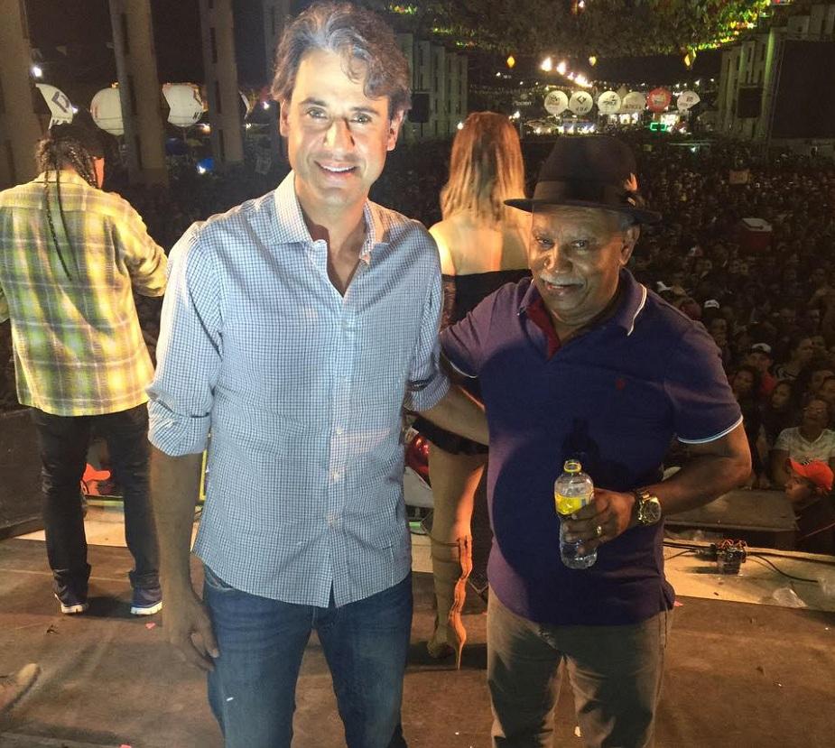 Fernando Monteiro (PP) e Manoel Botafogo (PDT) em Carpina