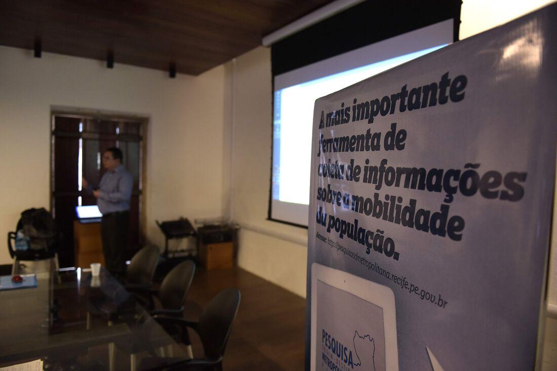 Lançamento da Pesquisa de Origem e Destino da Região Metropolitana do Recife