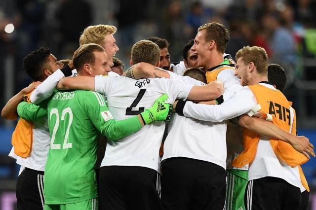 Alemanha foi a campeã da Copa das Confederações russa