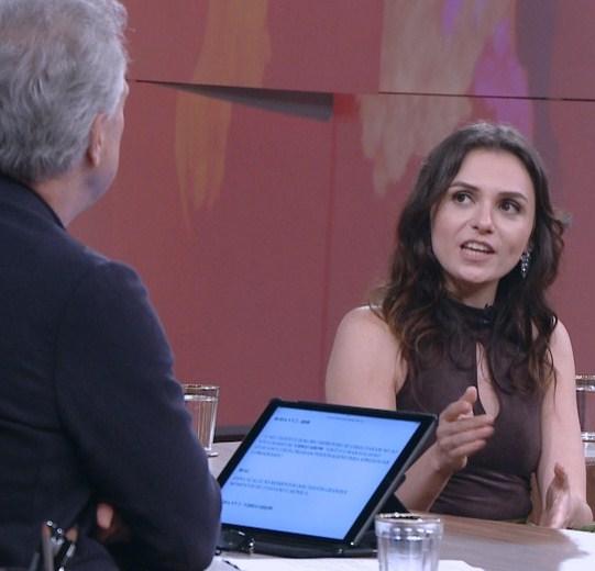 Monica falou pela primeira vez sobre o assunto na TV
