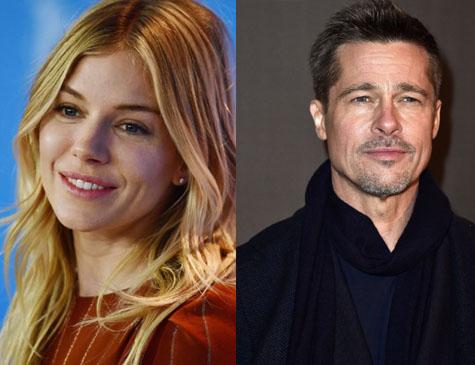 Publicação afirma que Sienna Miller e Brad Pitt estão namorado em segredo