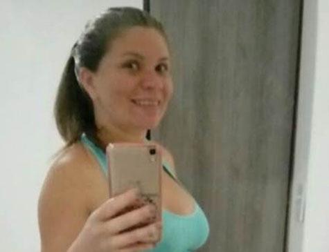 Claudineia dos Santos Melo, grávida de Arthur