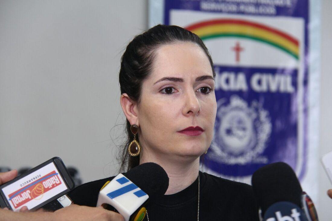 O caso foi apresentado pela delegada Patrícia Domingos