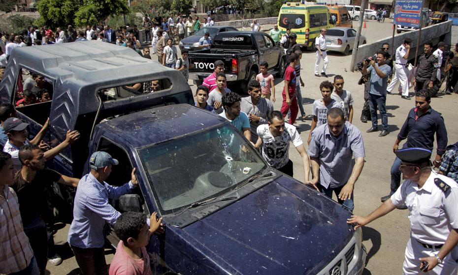 Local onde duas turistas foram esfaqueadas no Egito