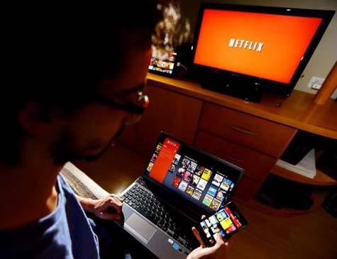 Serviço de streaming Netflix