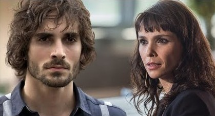 Ruy (Fiuk) e Irene (Débora Falabella)