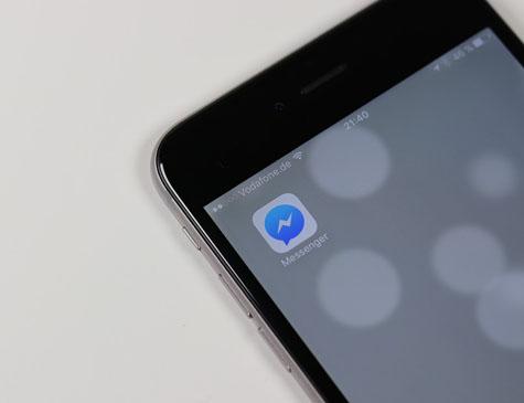 Aplicativo Messenger, do Facebook