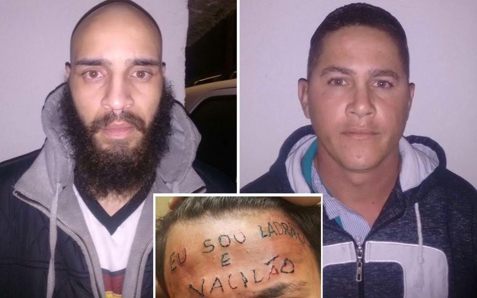 Maycon Reis e o vizinho Ronildo Moreira foram presos por torturar adolescente