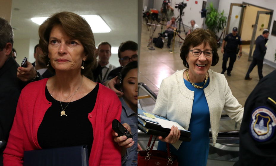Os votos de das senadoras Susan Collins e Lisa Murkowski foram decisivos para impedir a revogação do chamado Obamacare