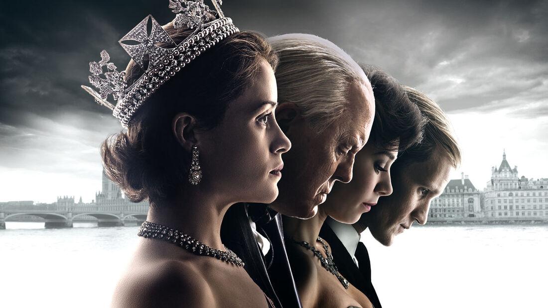 Série 'The Crown', da Netflix