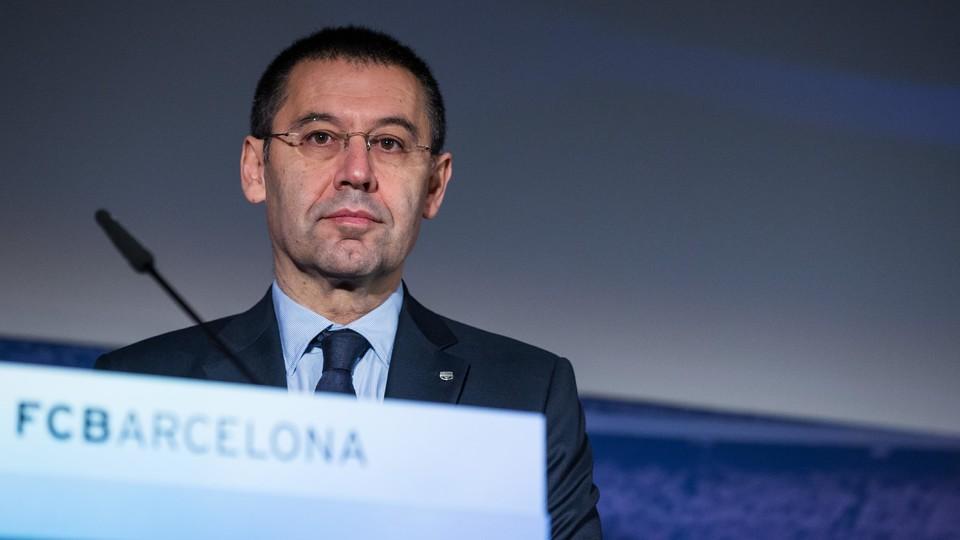 Jose Maria Bartomeu, presidente do Barcelona