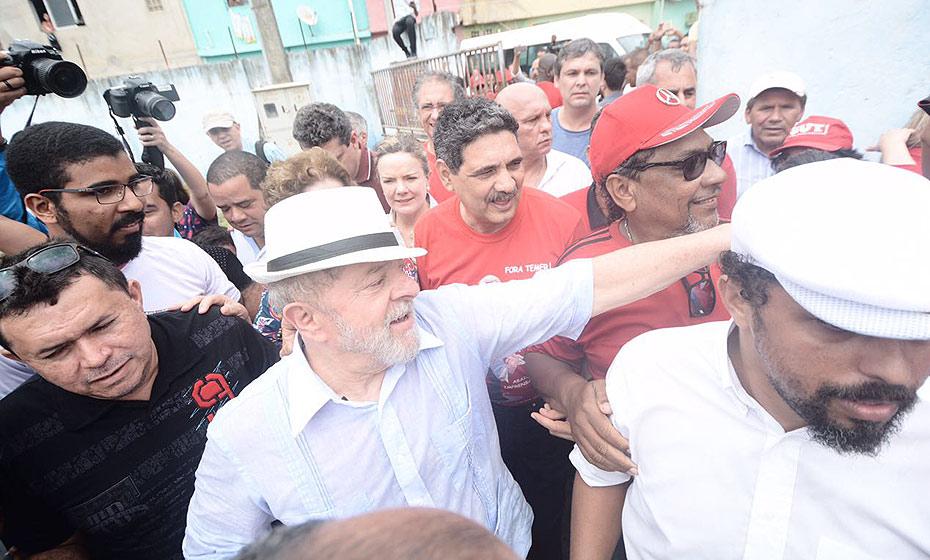 Lula em Brasília Teimosa