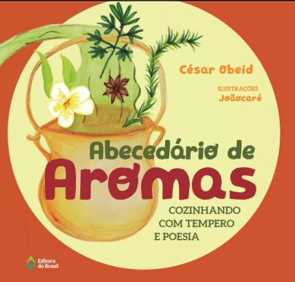Capa do livro Abecedário de aromas