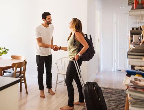 40% dos brasileiros já trocaram a hospedagem em hotel por casas de terceiros