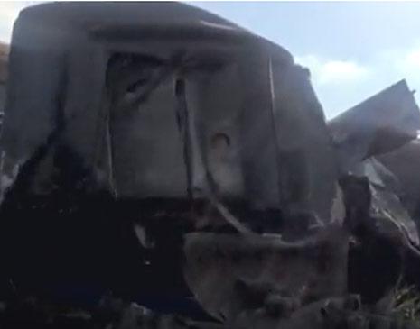 Colisão de trens no Egito