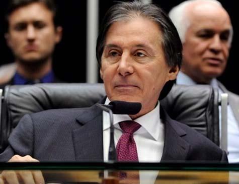 """Eunício tentou minimizar a derrota do governo e afirmou que """"a meta já está aprovada"""""""