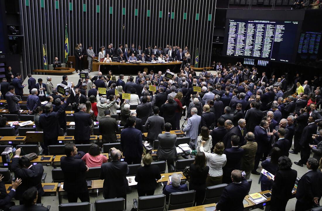Sessão da Câmara Federal