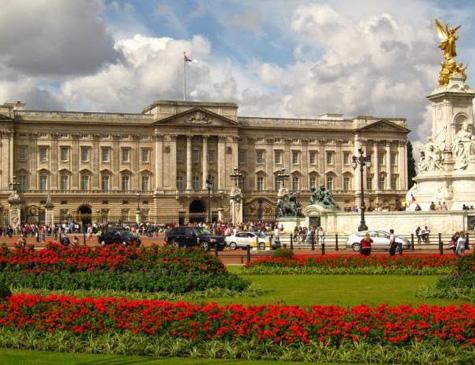Palácio de Buckingham, em Londres, Inglaterra