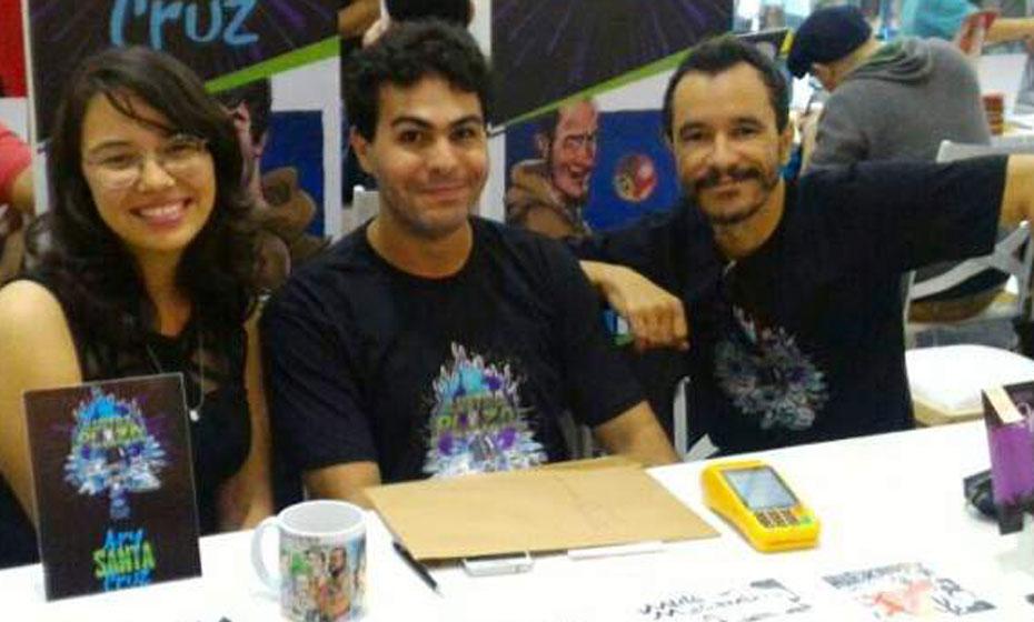 Luciano Félix faz parte da equipe do Mistiras, com Stéphanie Villas-Bôas e Ary Santa Cruz Netto