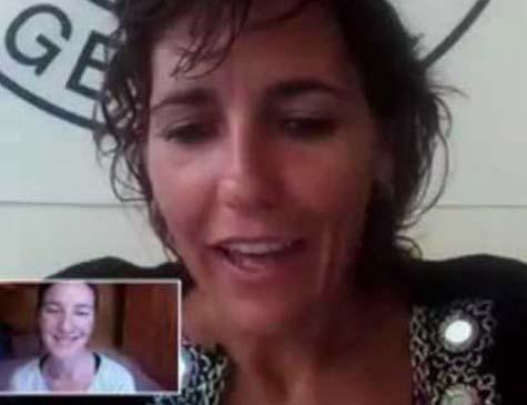 Lorena Enebral Pérez, ministrando curso de Gerenciamento de Crianças com Paralisia Cerebral no Youtube