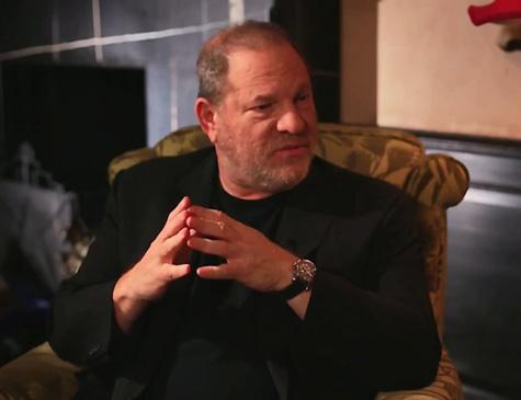 Produtor Harvey Weinstein